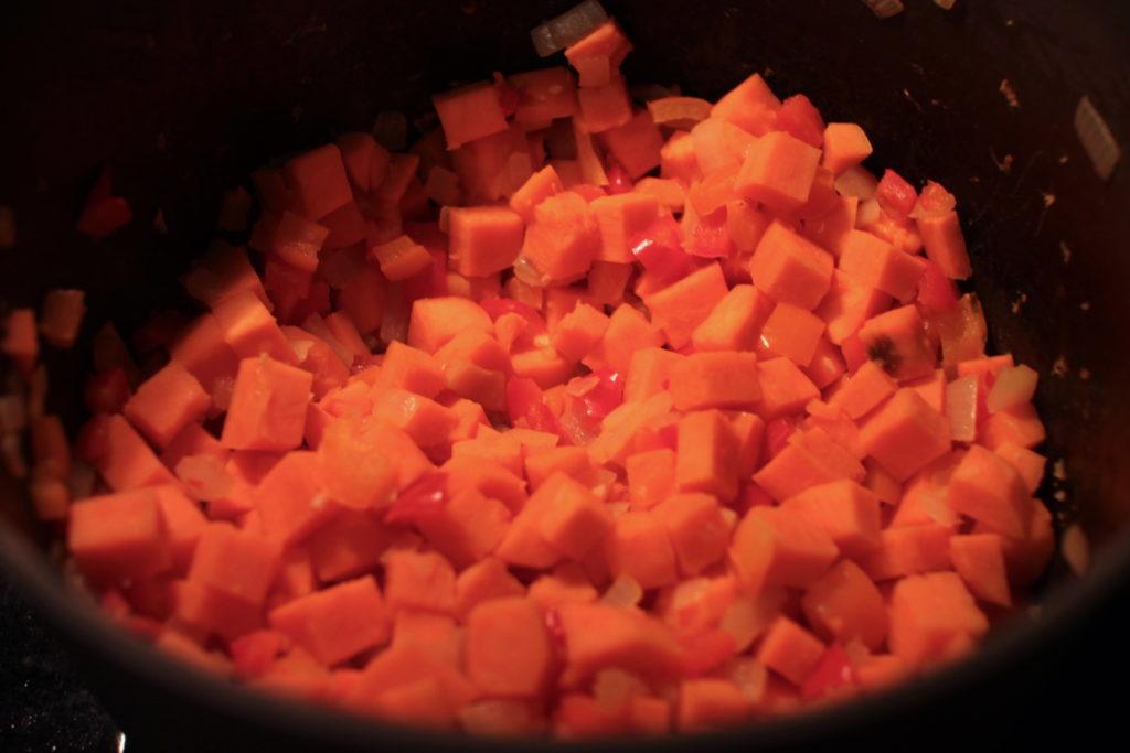 Sweet Potato Chipotle Chili Recipe
