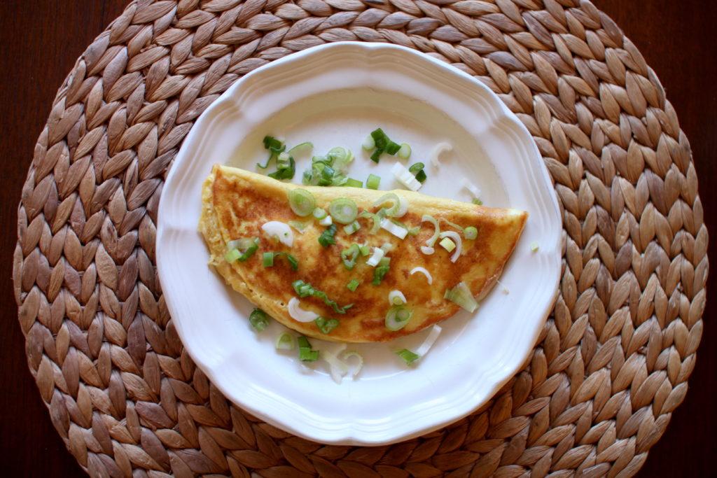 White Cheddar Omelette Recipe