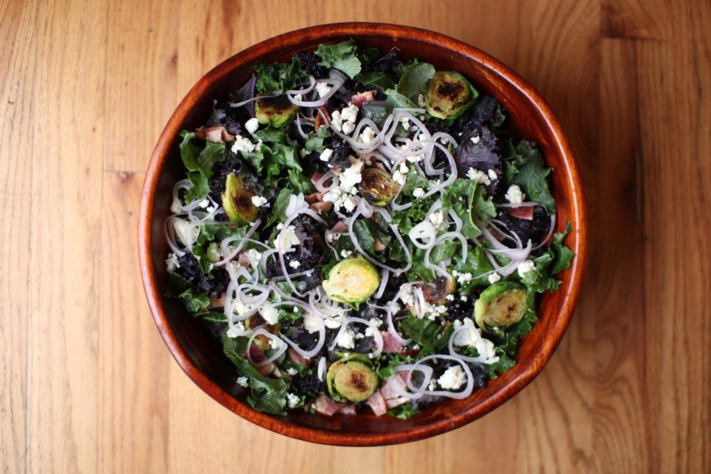 Bacon Brussels Salad Recipe