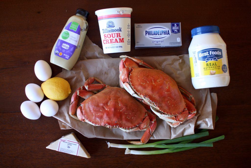 Crab Dip Omelette Recipe