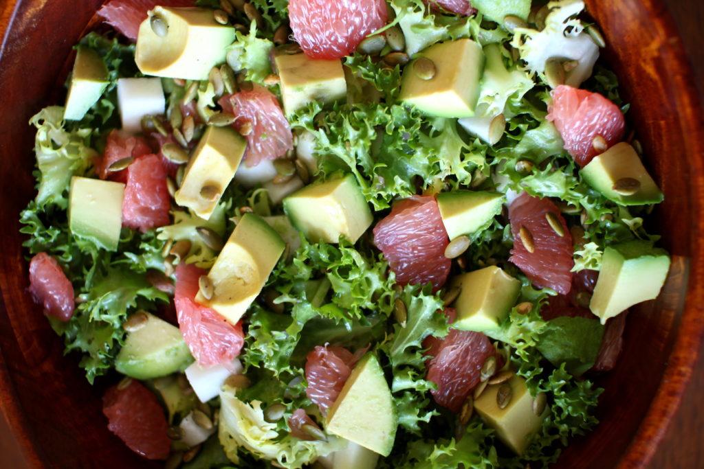 Avocado Grapefruit Salad Recipe