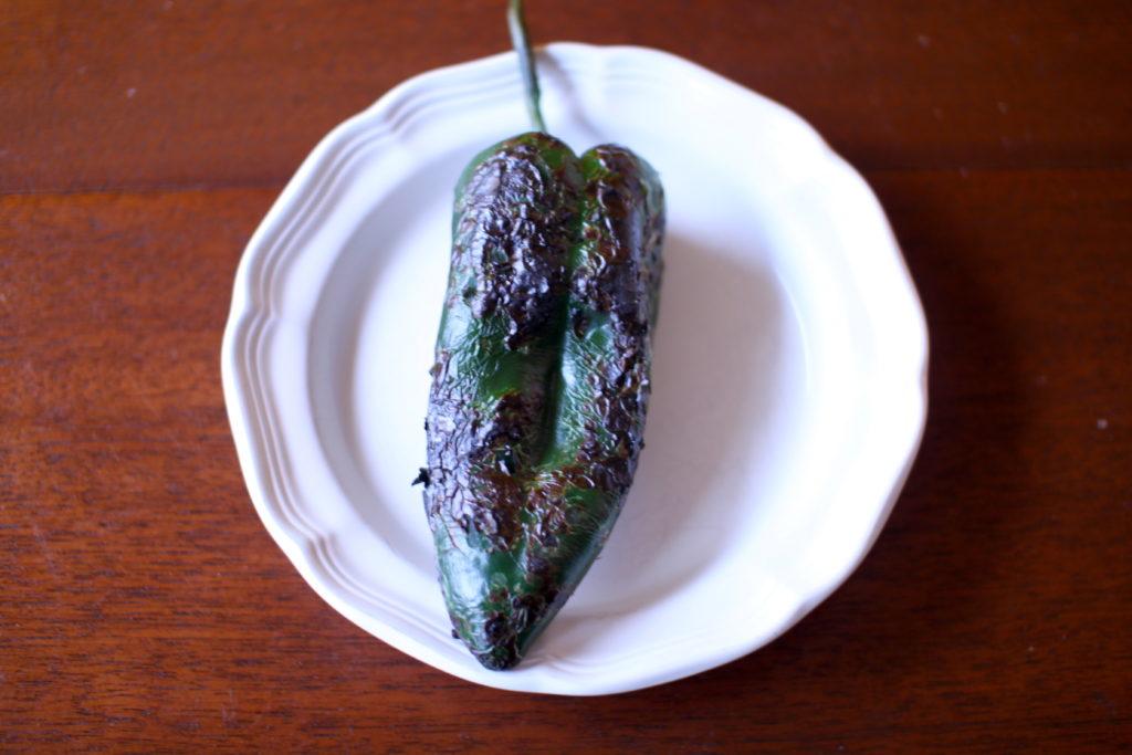 Potato Poblano Leek Soup Recipe