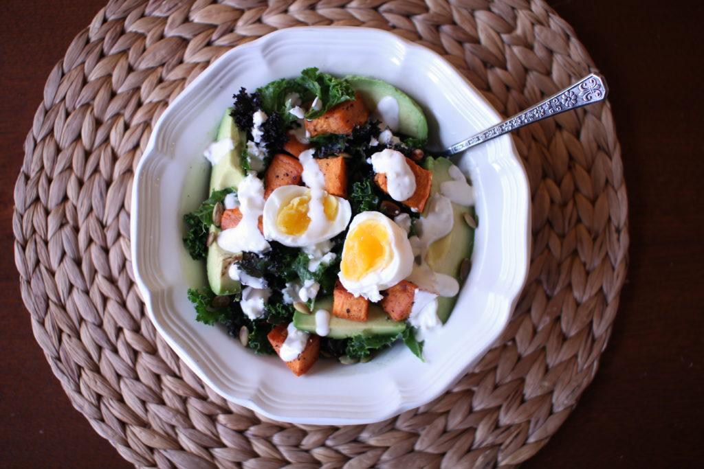 Sweet Potato Avocado Salad Recipe