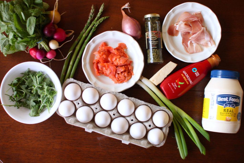 Party Eggs Ingredients