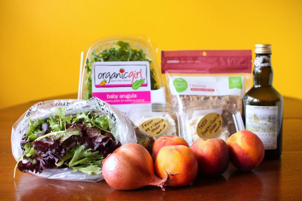Balsamic Peach Salad
