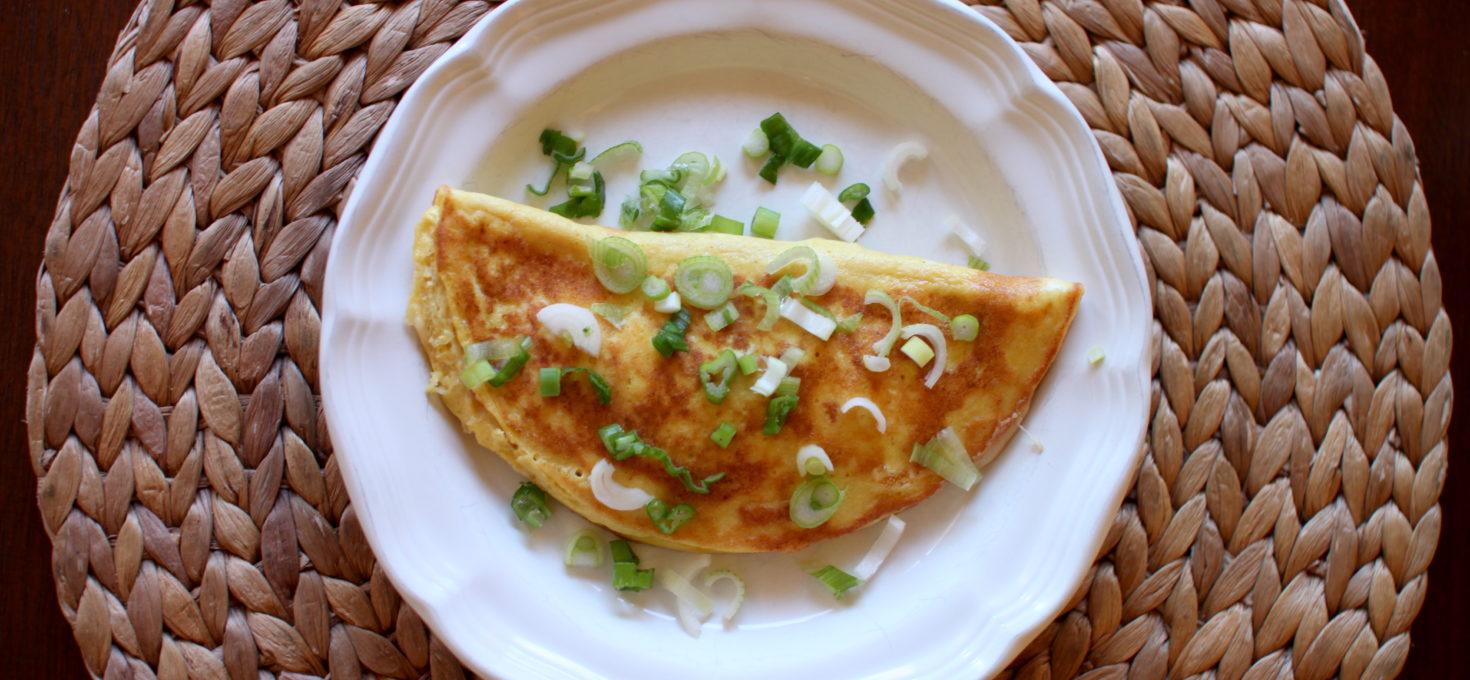 White Cheddar Omelette