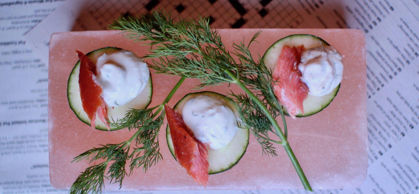 Smoked Salmon Bites