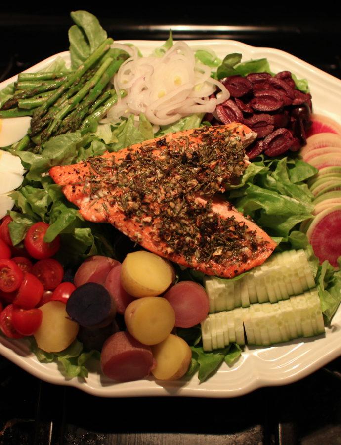 Pacific Northwest Salad Niçoise