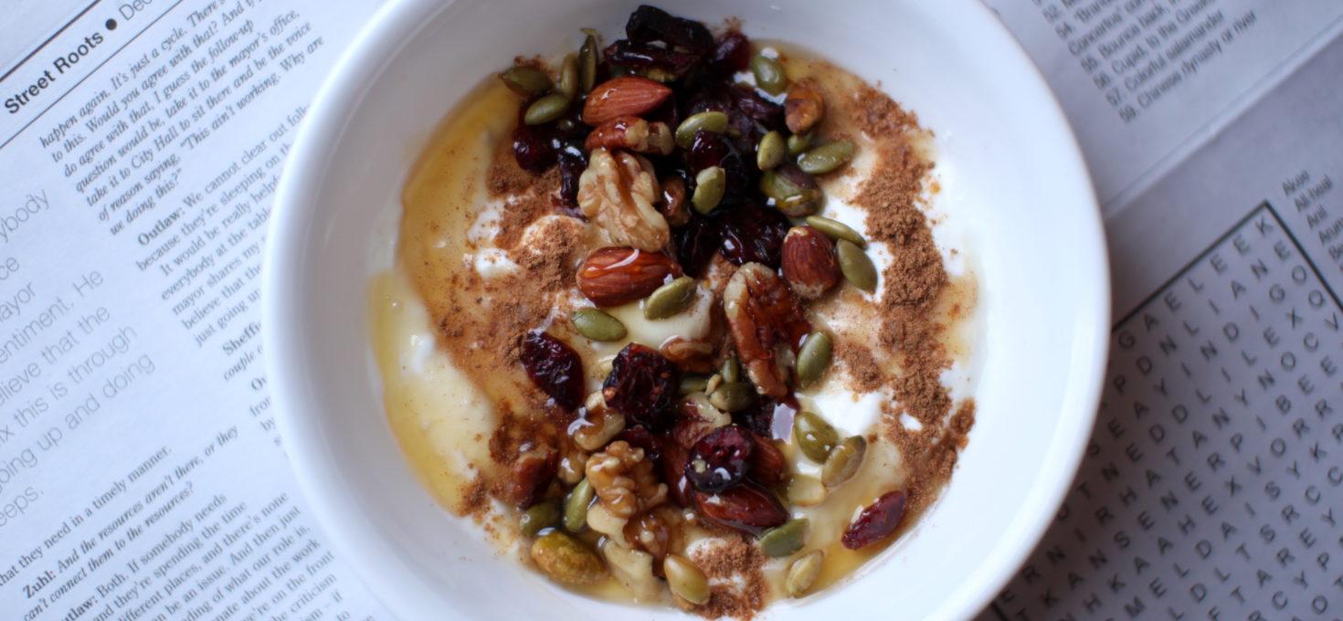 Spiced Greek Yogurt