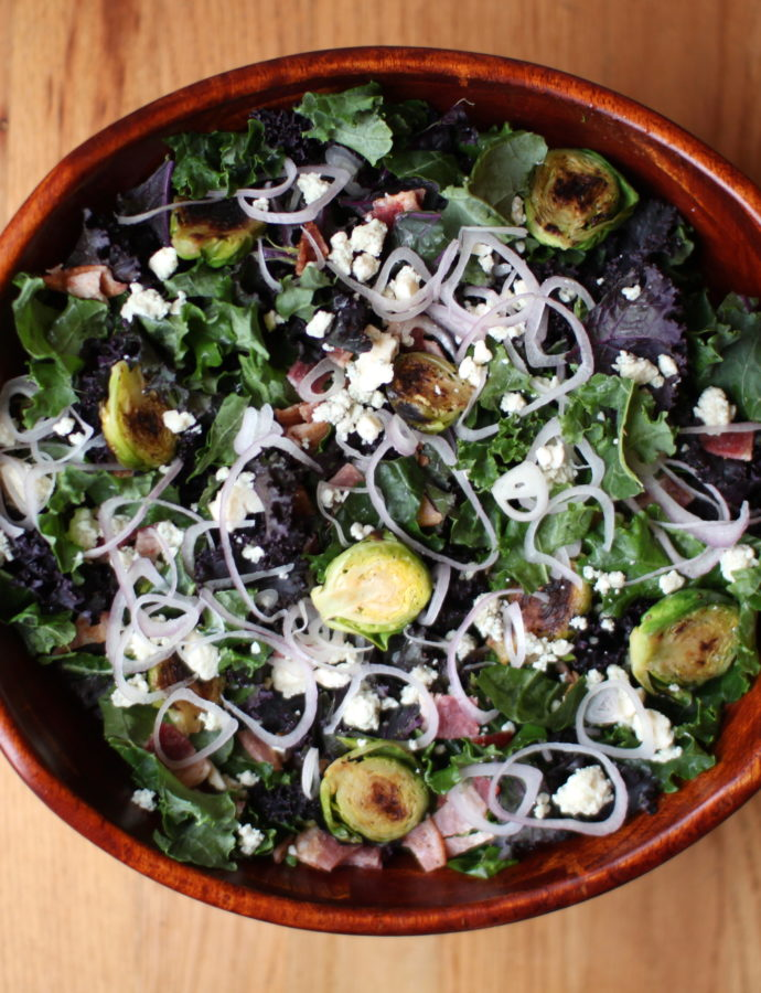 Bacon Brussels Salad