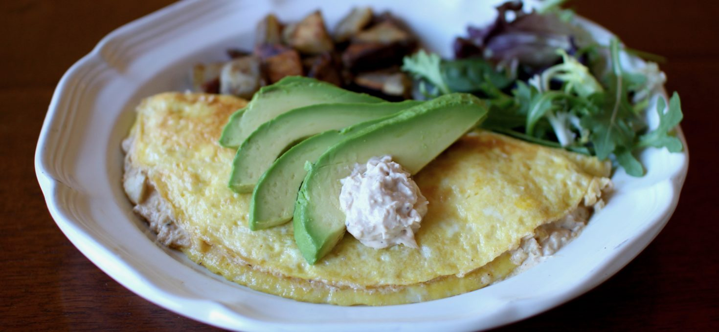 Crab Dip Omelette