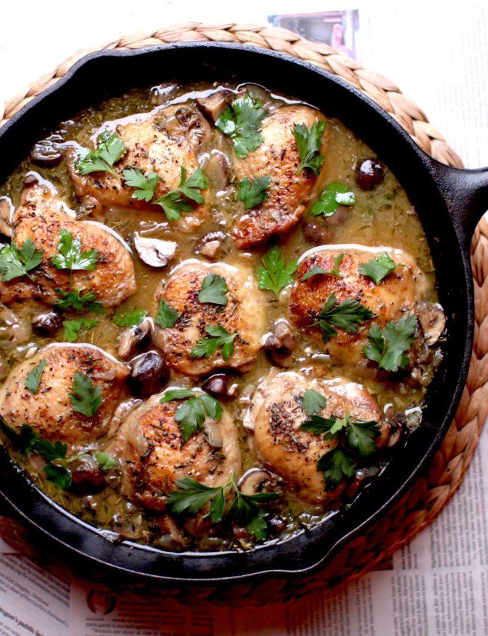 Herby Chicken Thighs