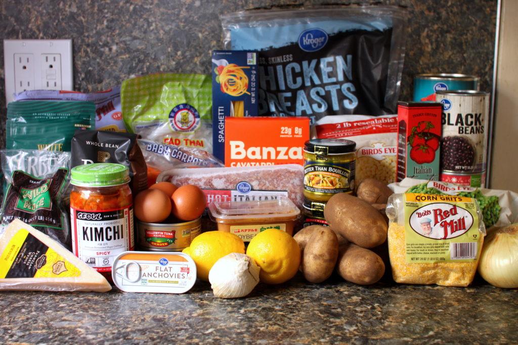 Coronavirus pantry essentials