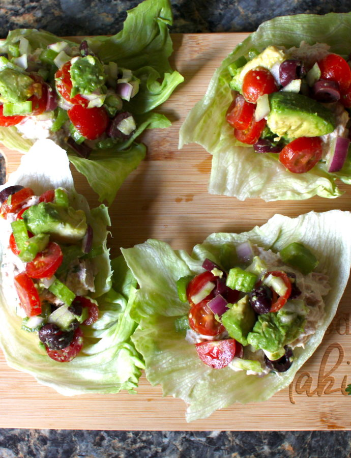 Rainbow Tuna Salad