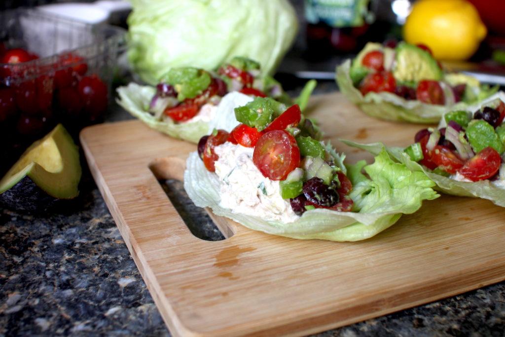 Rainbow Tuna Salad recipe