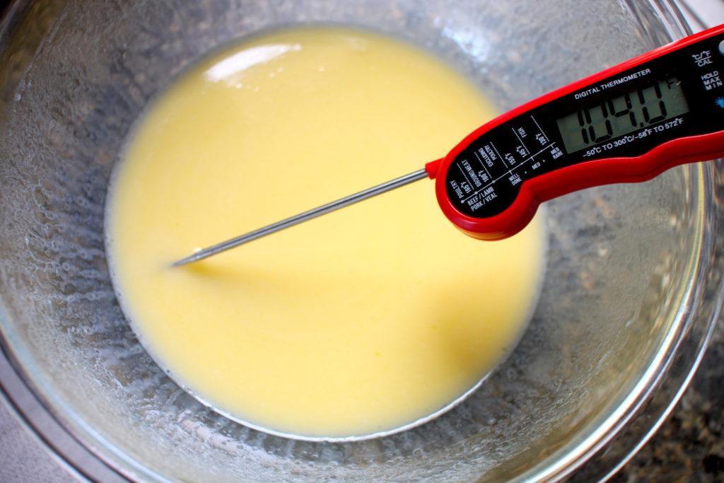 Best temperature for yeast for gluten-free cinnamon roll dough