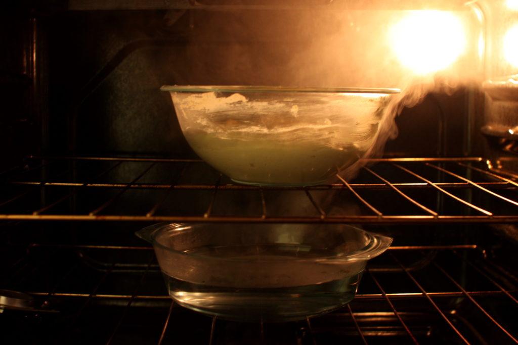 How to prove gluten-free cinnamon roll dough