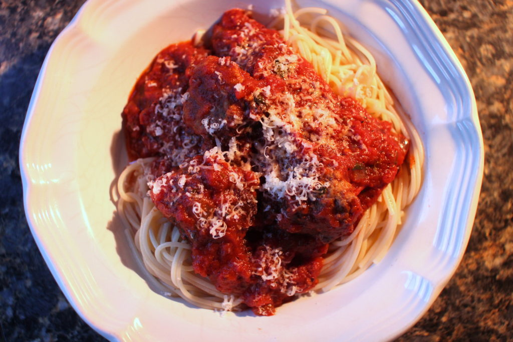 Gluten-Free Meatballs and Spaghetti